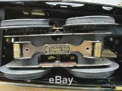 1920's LIONEL TRAIN PREWAR STANDARD GAUGE MOJAVE 402 DUAL ENGINE PASSENGER CARS
