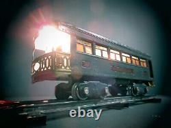 1930 LIONEL TRAINS STANDARD GAUGE 10 ENGINE With339 332 341 PASSENGER CARS ORIGANL