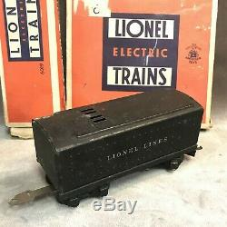 1937-1941 TRAIN SET Lionel O-Gauge 1668 Torpedo Locomotive Engine & Cars