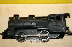1960's FLEISCHMANN MINI TRAIN SET STEAM LOCOMOTIVE & CARS HO SCALE MODEL #1305