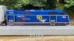 2021 LEGO Monorail 50th Anniversary Amtrak Locomotive And Coach Car