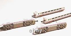 8871 Märklin Marklin Z-scale ICE Railcar Train Set, lighted cars, two motors