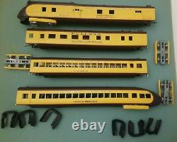 AHM H0 #491 Diesel-Train M-10000 UP City of Salina Brass 4 cars set
