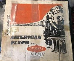American Flyer By Gilbert #20605 Train Set Locomotive Caboose And Cars