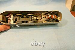 American Flyer O Gauge 1930's 9900 Burlington Zephyr Train Set Locomotive 3 Car