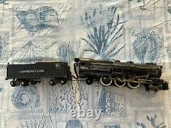 American Flyer S-gauge train set (3 locomotives, 16 cars, 74 tracks, plus more)