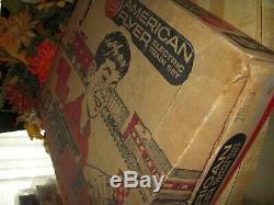 American Flyer Train Set 20765 24222 Domino Sugars Hopper Rare B&M 24059 Box Car