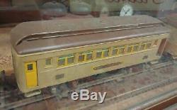 Antique Pre-war Lionel Standard Gauge Locomotive 390E, Train Set With 3 Cars