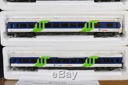 BACHMANN 31-026 BR THAMES TRAINS CLASS 166 TURBO DMU LOCO 3 CAR SET nt