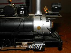 BACHMANN SPECTRUM On30 C&S TRAIN 21 STEAM ENGINE & TENDER & 4 CARS GOOD SET LOOK