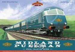 Bachmann 30-425 DCC FITTED Class 251 6 Car Midland Pullman Train Nanking Blue