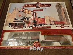 Bachmann Big Hauler Super Chief G Scale Train Set Steam Locomotive + Cars