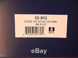 Bachmann Class 108 3 car DMU BR Blue Train pack ref 32-912
