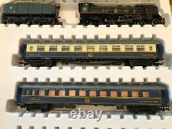 Bachmann HO RARE Orient Express Collector Train Set Jouef Loco Passenger Cars