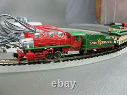 Bachmann Spirit of Christmas N Train Set Locomotive Engine Tender Car WORKING