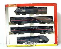 Bxd 4 car 125 HST train pack GNER livery Power Car, Dummy + 2x Mk3 Coaches R2116