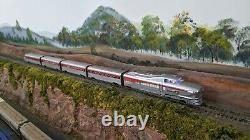 Con-Cor HO DCC Sound Aerotrain Union Pacific City of Las Vegas 5-Car Train Set