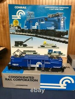 Conrail K Line 5 unit work train K-1202 with GG1 Locomotive and 4 operating cars