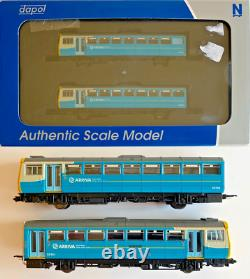 Dapol N Gauge Nd116d Class 142 Pacer 2 Car Dmu'arriva Trains Wales' 142085
