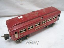 Early Lionel Lines 253 Pre-War Engine withPullman Train Cars 600, 601, 602