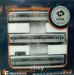 Frateschi Ho Cptm Siemens 3 Car Electric Metro Train (6316)