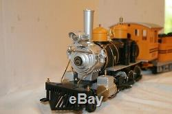 G Scale Aristocraft Train Locomotive, Tender and Passenger Cars set