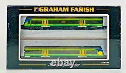 Graham Farish N Gauge Class 170 Turbostar Dmu 2 Car Central Trains Boxed
