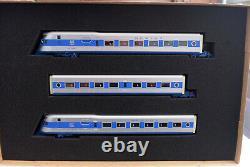 HO-Con Cor 01-008735 New Haven COMET 3-Car Train Set 1934 Paint Scheme