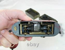 HO Custom Brass/Diecast Underground Mining Train Dual Engines with Coal Cars