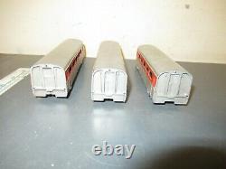 HO Scale Vintage Varney Aero Train 3 Cars Used