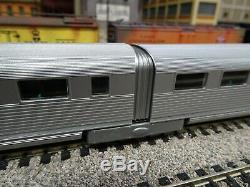 HO Train Con-Cor Pioneer Zephyr Burlington Rt 3 Car set DCC Ready 001-8721 #F63