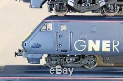HORNBY R2002 GNER CLASS 225 EMU HIGH SPEED TRAIN SCOTTISH ENTERPRISE 4 CAR SET n