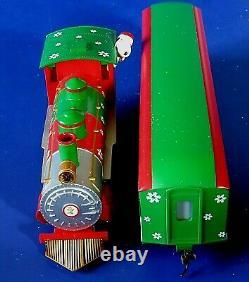 Hawthorne Village Snoopy Locomotive & Peanuts Train Car 2011 (rare)