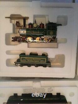 Hawthorne Village Thomas Kinkade Christmas Trains Cars Locomotives Tracks COA