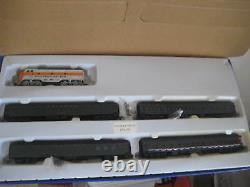 Ho Trains Western Pacific Locomotive F3-a Thomas E. Dewey Train Set 4 Pass. Cars