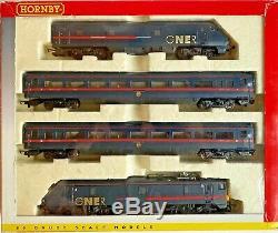 Hornby 00 Gauge R2002 Gner 225 4 Car Train Pack'scottish Enterprise' Read