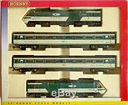 Hornby 00 Gauge R2115 Great Western Trains Gwr Merlin 4 Car Hst 125 Pack