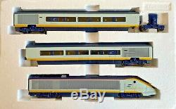 Hornby 00 Gauge R2379 Eurostar 6 Car Emu Train Pack With Divisible Saloons