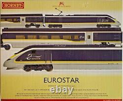 Hornby 00 Gauge R3215 Eurostar 4 Car Emu Train Pack Boxed