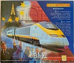 Hornby 00 Gauge R665 Eurostar Class 373 4 Car Emu Train Pack Boxed #2