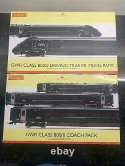 Hornby GWR Class 800 5 Car Train Pack DCC Fitted Excellent Condition OO R3514
