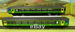 Hornby R2511 Class 156 DMU Central Trains 2 car set green DCC Ready OO (W)