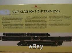 Hornby R3514 GWR Class 800/0 5 car train pack dcc ready 00 gauge