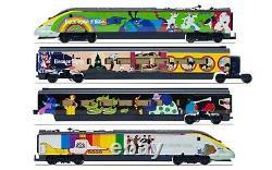 Hornby R3829 Eurostar Class 373 Yellow Submarine 4 Car Train Pack Era 9 OO Gauge