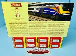 Hornby'oo' R2948x'east Midlands Trains' Class 43 Hst DCC Fitted 10 Car Hst