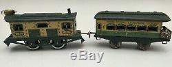 Ives Model Train 3258 Engine And 558 Observation Car