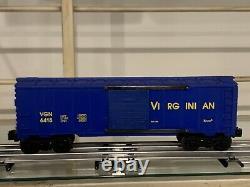 K-LINE ELECTRIC TRAINS TWIN A ALCO SANTA FE K2126, 4 Passenger Cars, & 1 Box Car