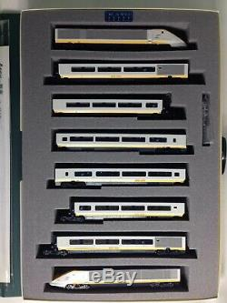 Kato 10-327 Eurostar 8 Car Train Set N Gauge Railway