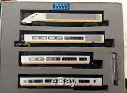 Kato N Gauge 10-327 Eurostar 8 Car Train Set Boxed