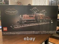 LEGO Creator Expert 10277 Crocodile Locomotive NEW